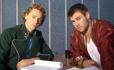Tom Hiddleston, Chris Hemsworth, Thor, Loki