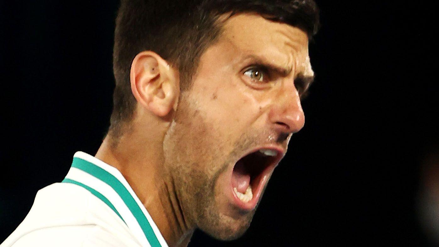 Novak Djokovic refuses to detail injury after reaching Australian Open quarter-finals