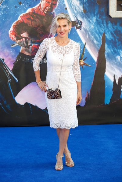 Elsa Pataky at the UK Premiere of Guardians of the Galaxy in London, 2014