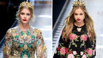 <p>While we wait for the day that the Duchess of Cambridge follows up her student turn on the runway in 2002 at St Andrews, other royals are lording it over regular models in the world of fashion. </p> <p>Here&rsquo;s your guide to pin-up princes and princesses on the catwalk.</p>