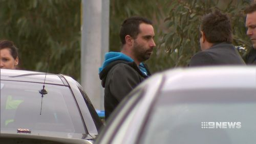 Police questioned and then released Jamie Willis in the hours following the discovery of the body. Picture: 9NEWS