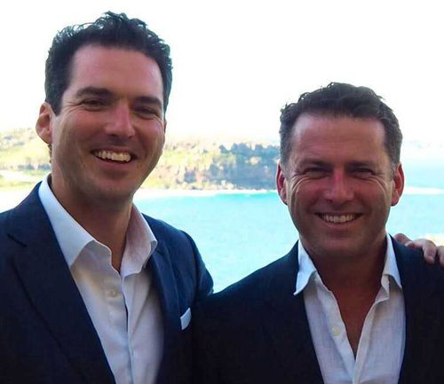 Pete Stefanovic and brother Karl have come under fire for their conversation. (Supplied)