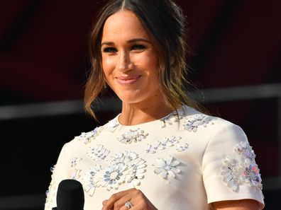 Meghan Markle in New York at Global Citizen live