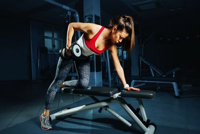 """<strong>""""Lifting weights will make you bulky""""</strong>"""