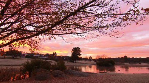 Sunrise in Stanthorpe. (9NEWS)