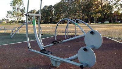 SA, Adelaide: Victoria Park