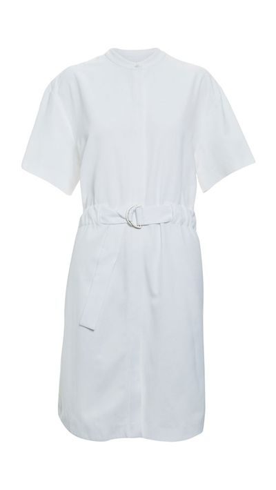 <p>The shirt dress</p>