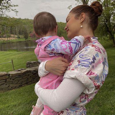 Gigi Hadid and daughter Khai