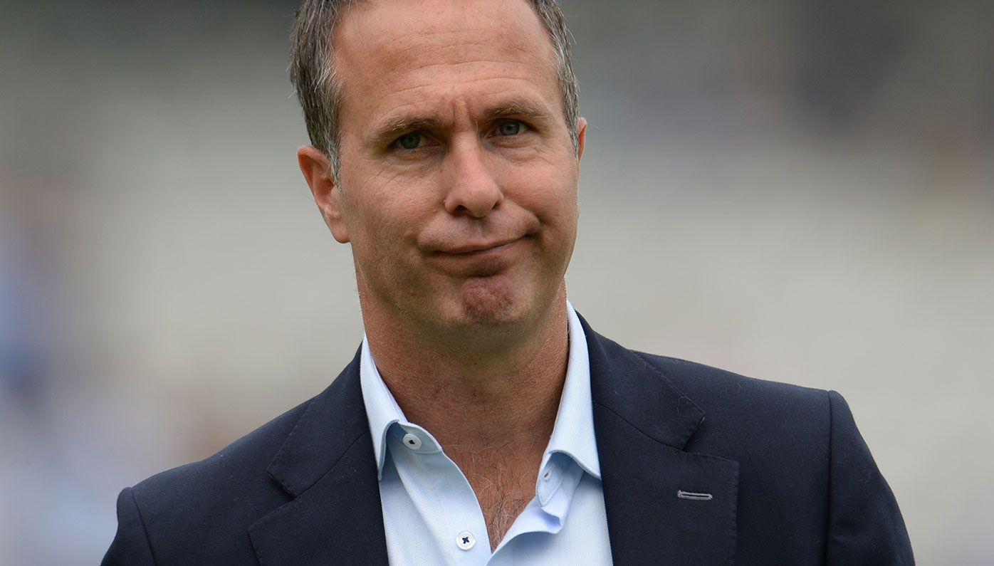 Former England captain Michael Vaughan.