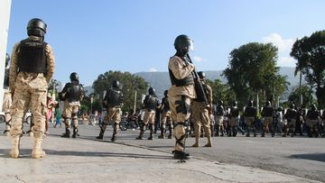 One dead, three injured in chaotic scenes in Haiti.
