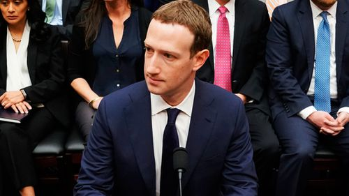 His appearance came in light of the recent Cambridge Analytica data scandal. (AAP)