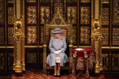 Queen opens UK Parliament