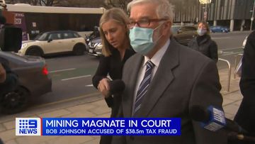 Mining magnate Bob Johnson has appeared before a South Australian court accused of defrauding taxpayers of $38.5m over 15 years.