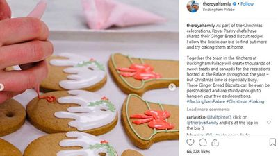 Royal pastry chefs reveal gingerbread recipe served at Christmas