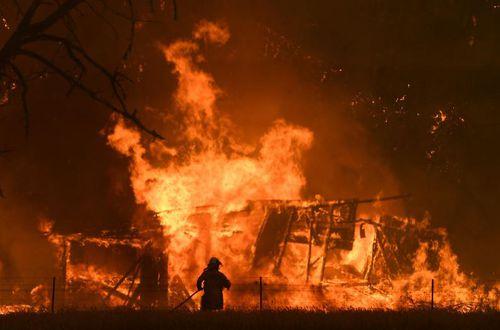 Gospers Park fire