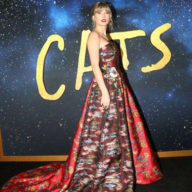 Taylor Swift at Cats premiere.