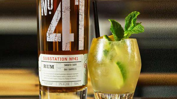 Substation No.41 summer storm cocktail