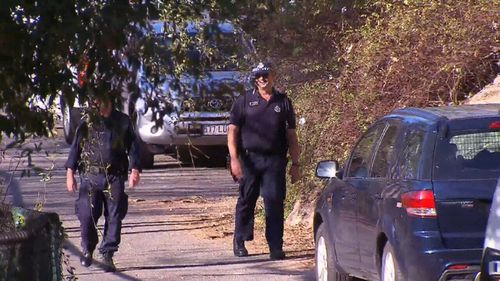 A bag of human remains has been discovered at Brisbane's Kangaroo Point cliffs.