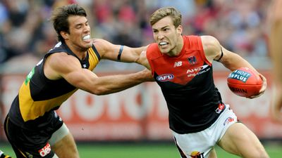 """Melbourne Demons player Jack Viney attracted attention on Twitter after he successfully appealed a two-week suspension on May 8, amid controversy over the AFL's newly-instituted """"bump"""" rule. (AAP)"""