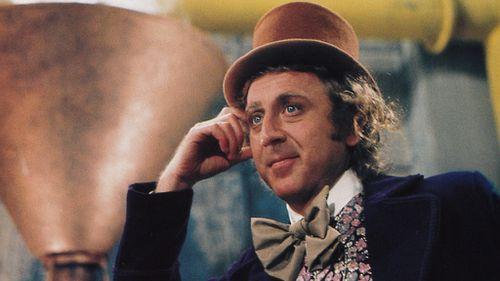 Gene Wilder as Willy Wonka. (AAP)
