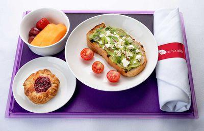 Virgin Australia Breakfast