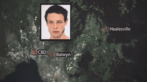 Police believe Ablett could be anywhere from Healesville to Balwyn. He's also known for coming into the CBD.