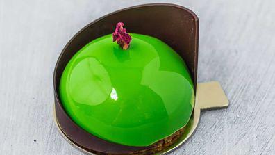 KOI's Mango Yuzu dessert
