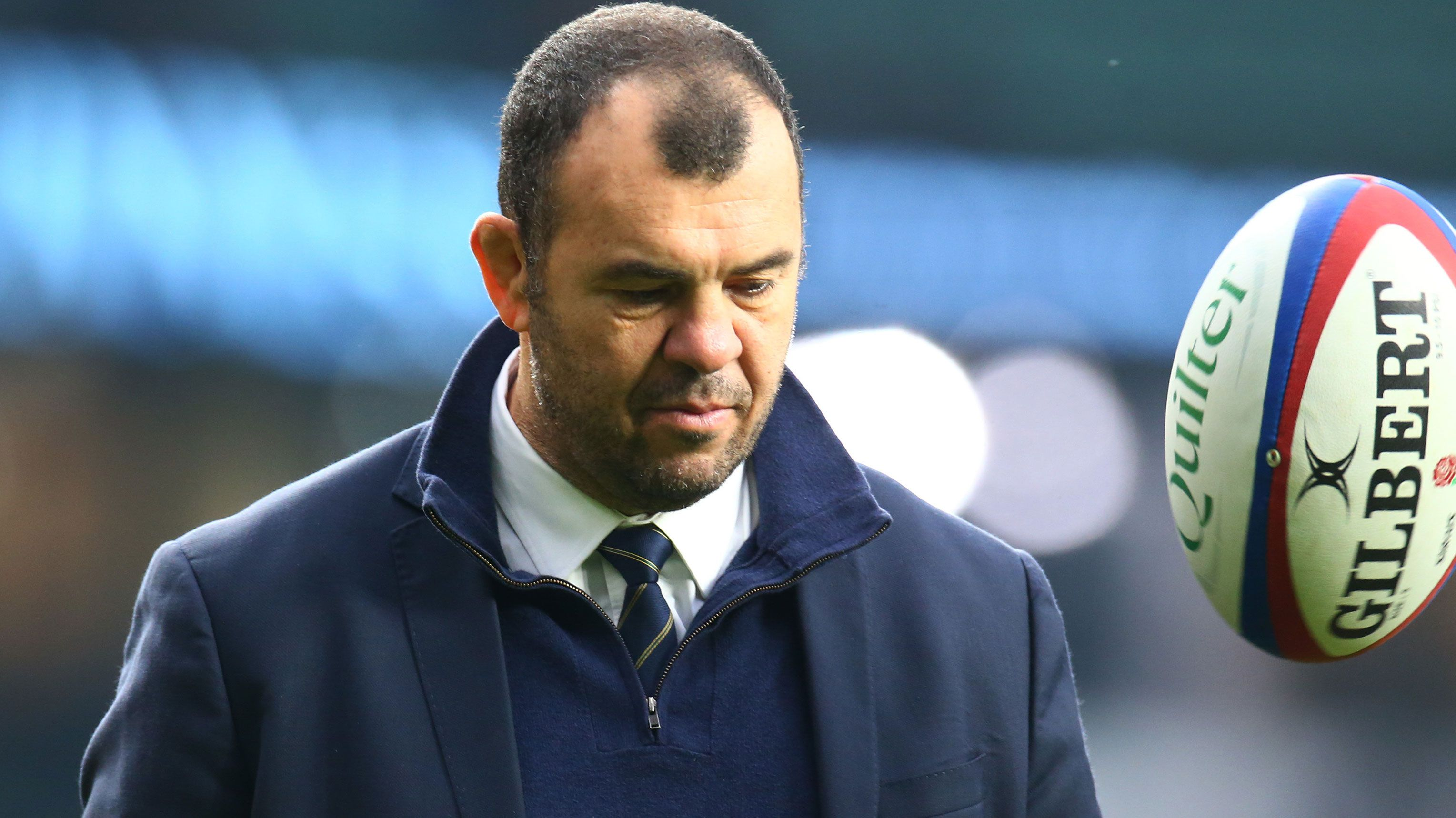 Pressure mounts on Rugby Australia to sack Wallabies coach Michael Cheika