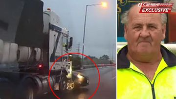Melbourne ring road truck driver breaks his silence