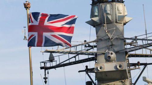 UK Navy Vessel