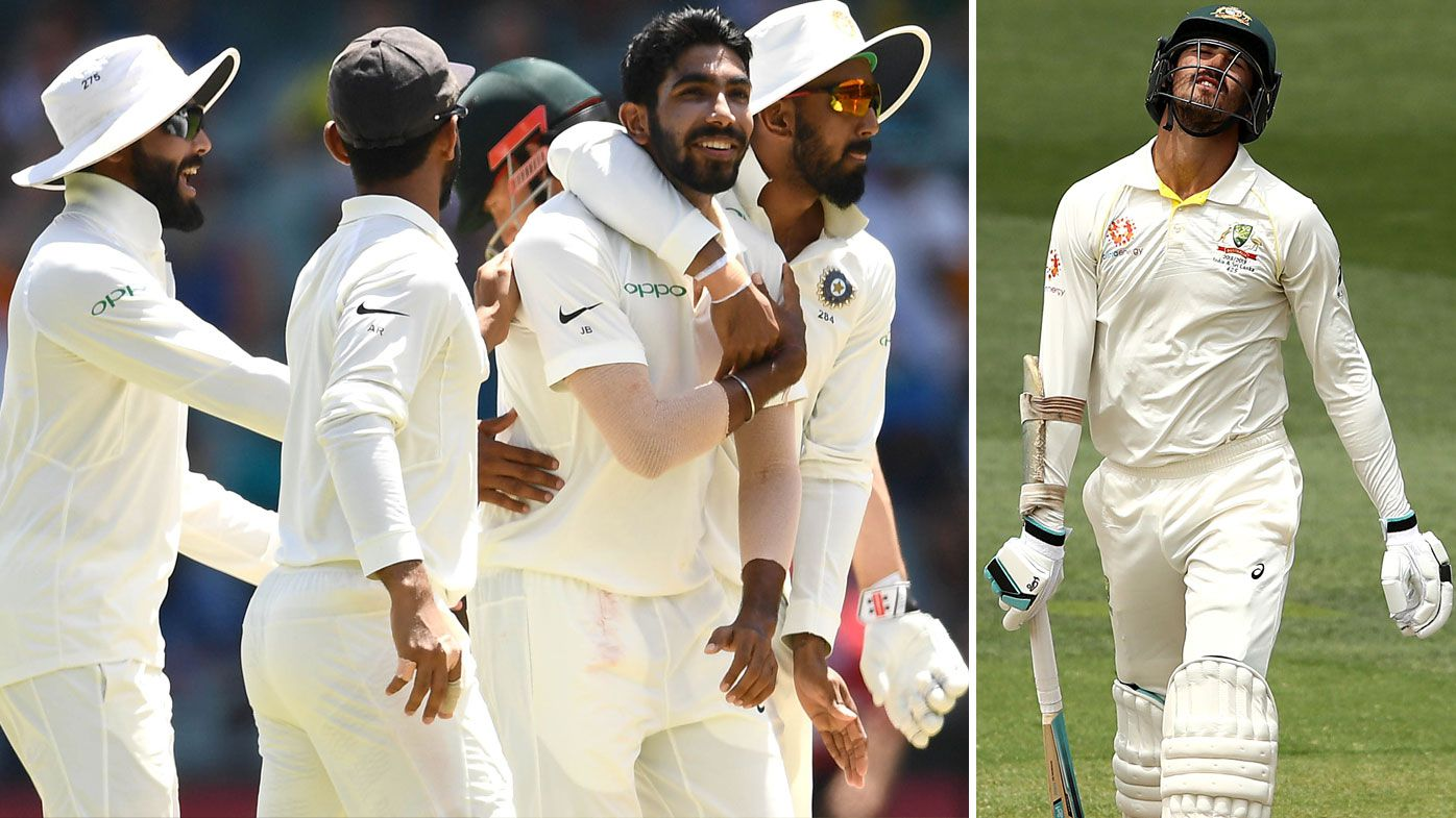 India claim 1-0 series lead over Australia with 31 run victory at Adelaide Oval