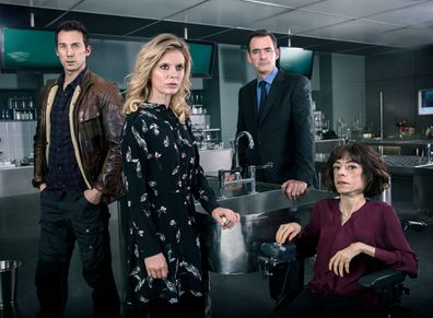 A scene from hit BBC crime drama Silent Witness