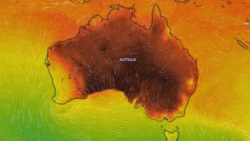 Temperatures at 1pm around the country are expected to be dangerously high.
