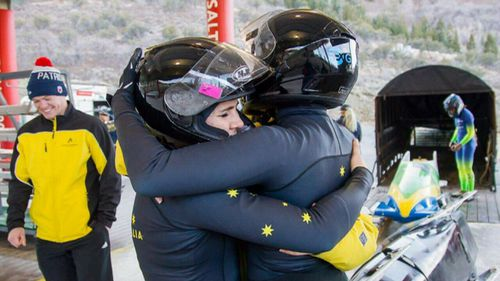 """""""Having competed the way we did and having gotten that quota spot, we were incredibly excited."""" (9NEWS)"""