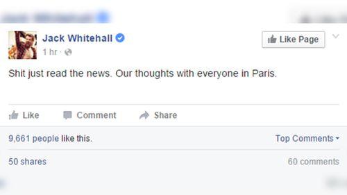 British comedian Jack Whitehall. (Facebook/Jack Whitehall)