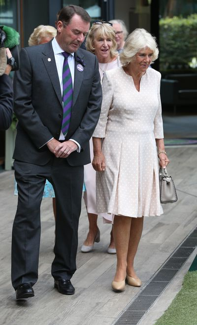 Camilla, Duchess of Cornwall at Wimbledon 2018