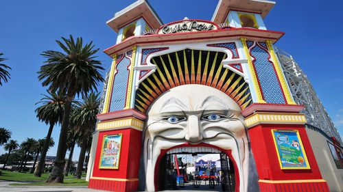 Luna Park Sydney will be open tomorrow. (AAP)