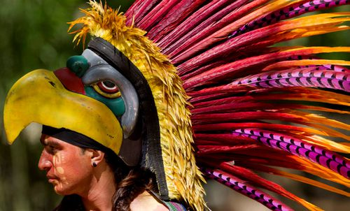Mayan culture continues to be celebrated today in Central America. (Photo: AP).