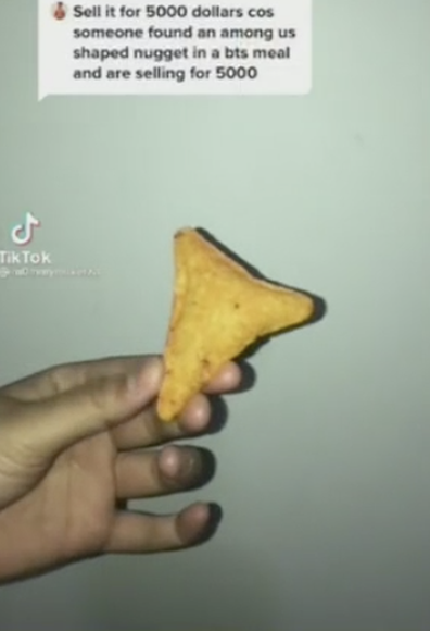 At the urging of her TikTok followers, the teen decided to sell the chip.