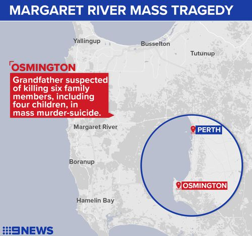 Osmington is about 260kms south of Perth. (9NEWS)