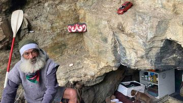 Awhi, who lives in a cave under Mt Drury, near Mt Maunganui.