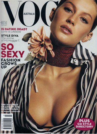 Vogue Australia March 2000 by Michael Thompson