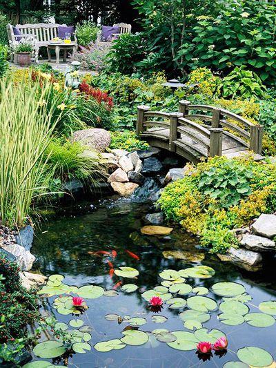 Private pond