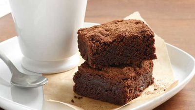 "Gluten-free chocolate fudge brownies <a href=""http://kitchen.nine.com.au/2016/05/17/11/35/glutenfree-chocolate-fudge-brownies"" target=""_top"">recipe</a>"