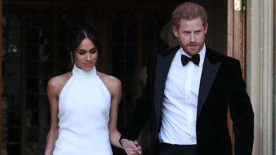 Prince Harry and Meghan Markle let their hair down