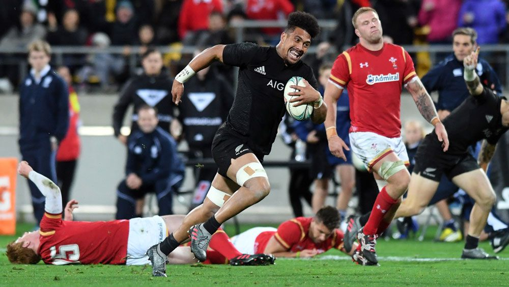 All Blacks clinch series with 2nd Test win