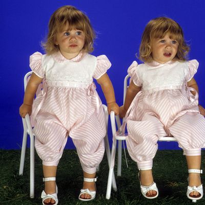 Mary-Kate and Ashley Olsen: 1988