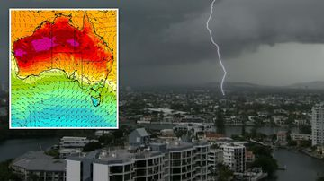 Australia weather Queensland heatwave March temperature records