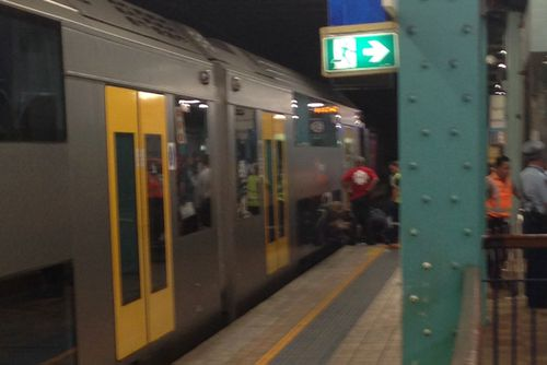 Man critical after falling in front of train at Wynyard Station