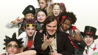 The cast of School of Rock.